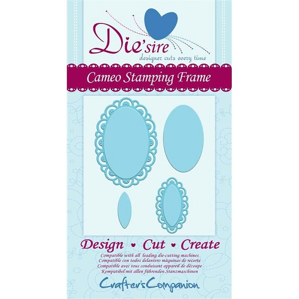 Die`sire - Die - Cameo Stamping Frame - DS-CAMFRM