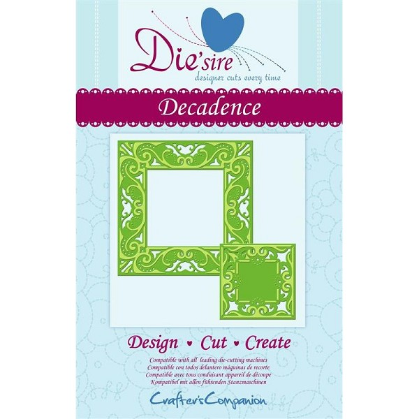 Die`sire - Die - Create-A-Card - Decadence - DS-CAD-DECA