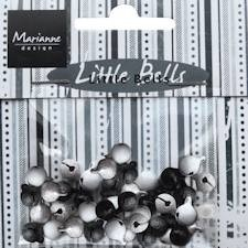 Marianne Design - Christmas Bells: Black / white - JU0941