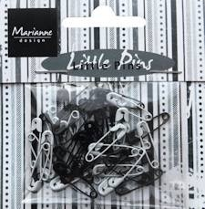 Marianne Design - Little Pins:  Black / white - JU0944