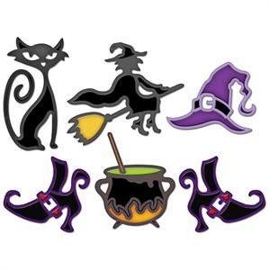 Spellbinders - Die - Shapeabilities - Witches` Brew