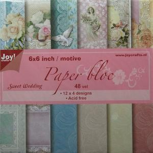 Joy! crafts - Paperpack - Sweet Wedding - 6011/0207