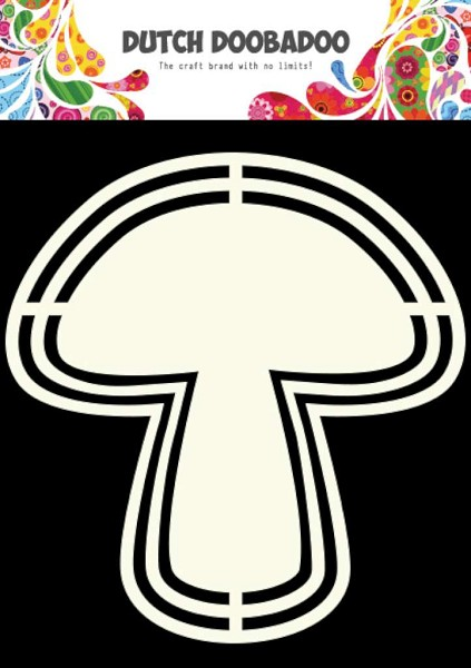 Dutch Doobadoo - Shape Art - Mushroom - 470.713.124