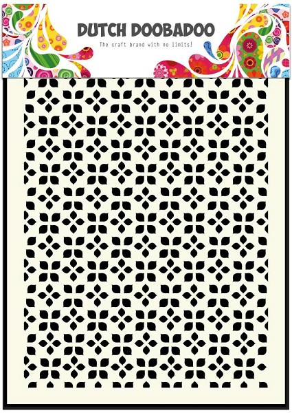 Dutch Doobadoo - Maskingstencil - Small leaves - 470.715.036