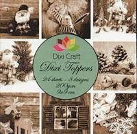 Dixi Craft - Paperpack - Vintage christmas sepia - ET0216