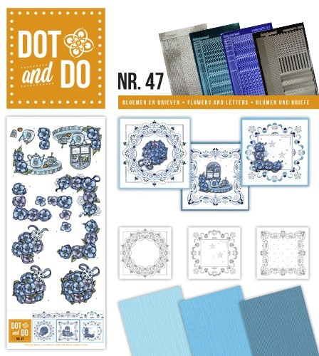 Card Deco - Kaartenpakketten - Dot & Do - No. 47 - Cozy winter - DODO047