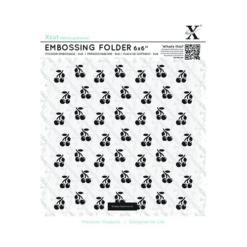Xcut - Embossingfolder - Cherries - XCU515172