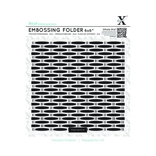 Xcut - Embossingfolder - Wicker - XCU515174