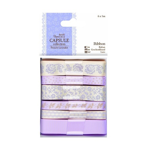 Docrafts / Papermania - Ribbon - Capsule Collection - French Lavender