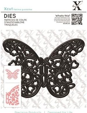 Docrafts - Xcut - Dies - Floral Filigree Butterfly