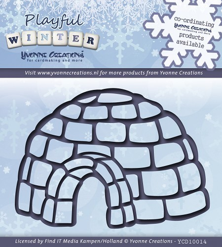 Yvonne Creations - Die - Playful Winter - Iglo - YCD10014