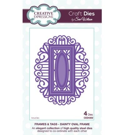 Creative Expressions - Die - Frames & Tags - Dainty Oval Frame