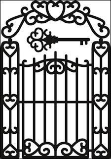 Marianne Design - Die - Craftables - Garden gate