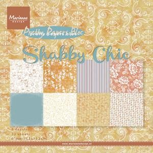 Marianne Design - Paperpack - Pretty Papers - Shabby chic - PK9121