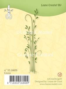Leane Creatief - Clearstamp - Grass - 55.0409