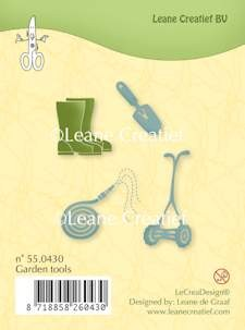 Leane Creatief - Clearstamp - Garden tools - 55.0430