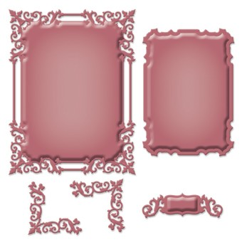 Spellbinders - Die - Shapeabilities - Regal Frame