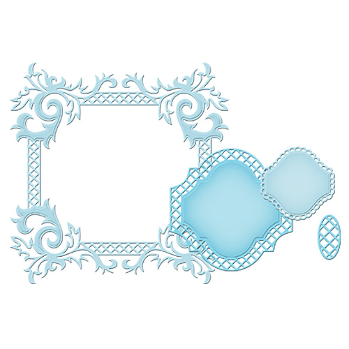 Spellbinders - Die - Nestabilities - Labels 41