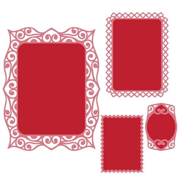 Spellbinders - Die - Nestabilities - Labels 40