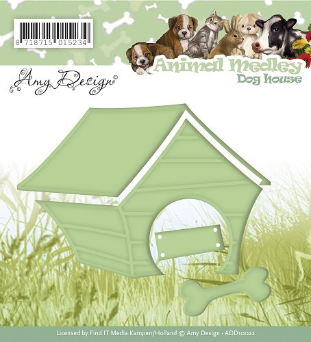 Amy Design - Die - Animal Medley - Dog House - ADD10022