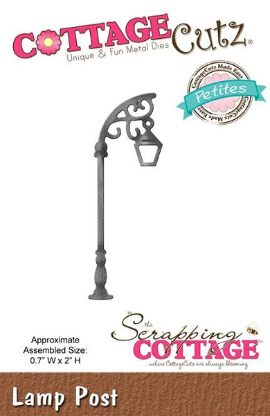 Cottage Cutz - Die - Lamp Post - CCP-019