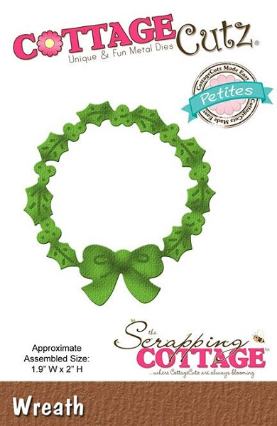 Cottage Cutz - Die - Wreath - CCP-061