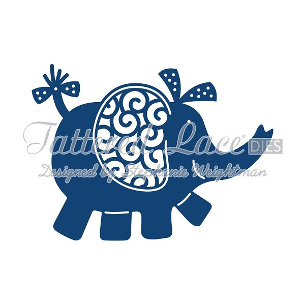 Tattered Lace - Die - Elephant
