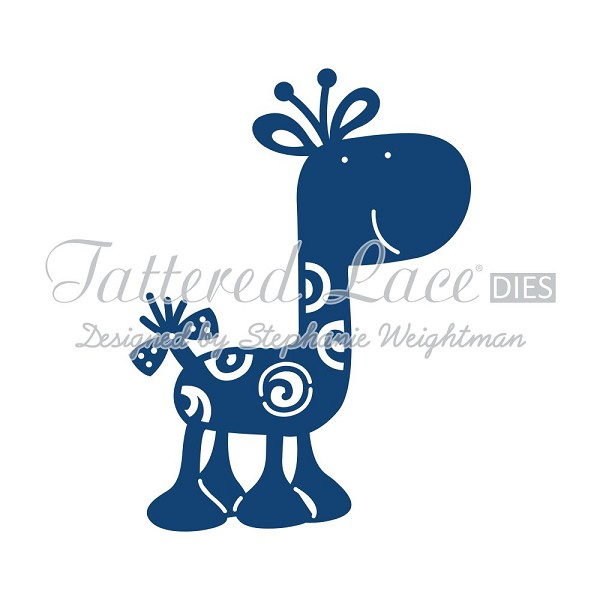 Tattered Lace - Die - Giraffe
