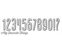 My Favorit Things - Die-namics - Die - Emmitt Numbers & Symbols