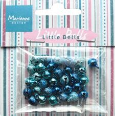Marianne Design - Christmas Bells: Light blue & dark blue - JU0940