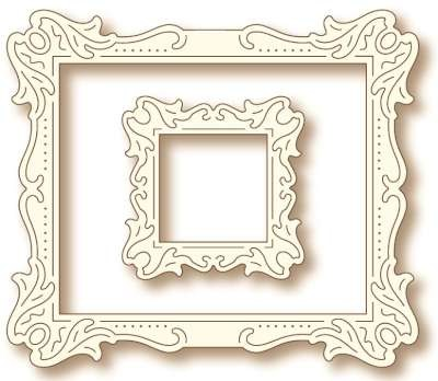 Wild Rose Studio - Die - Antique Art Frames