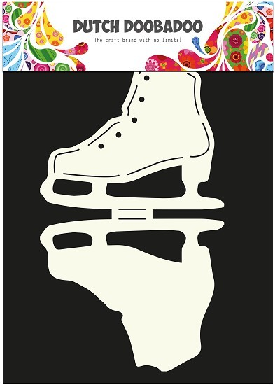 Dutch Doobadoo - Card Art - Ice Skates - 470.713.507