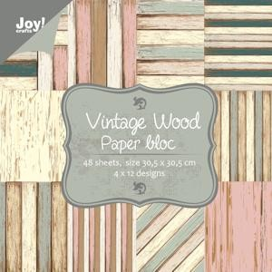 Joy! crafts - Noor! Design - Paperpack - Vintage wood - 6011/0702