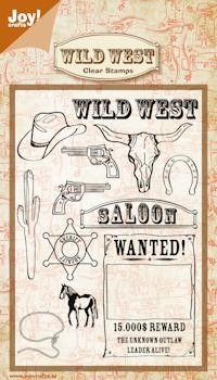 Joy! crafts - Clearstamp - Wild West - 6410/0348