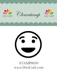 Dixi Craft - Clearstamp - Smiley 2 - STAMP0030