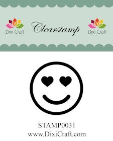 Dixi Craft - Clearstamp - Smiley 3 - STAMP0031