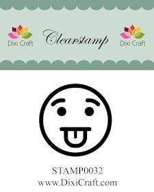 Dixi Craft - Clearstamp - Smiley 4 - STAMP0032