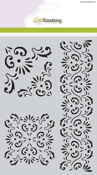 CraftEmotions - Maskingstencil - Ornament - 185070/1122