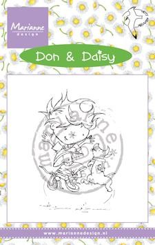 Marianne Design - Don & Daisy - Clearstamp - Freeze Frame - DDS3350