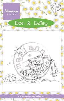 Marianne Design - Don & Daisy - Clearstamp - Holiday app - DDS3352