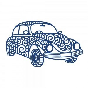 Tattered Lace - Die - Retro car