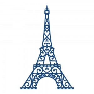 Tattered Lace - Die - Eiffel Tower