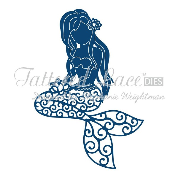 Tattered Lace - Die - Little Mermaid