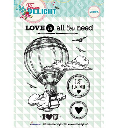 Studio Light - Clearstamp - Flower Delight - STAMPFD94