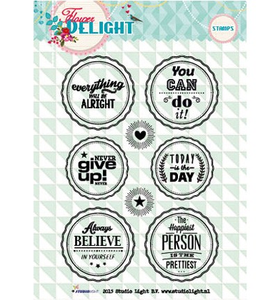 Studio Light - Clearstamp - Flower Delight - STAMPFD95