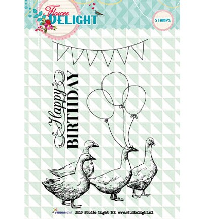 Studio Light - Clearstamp - Flower Delight - STAMPFD97