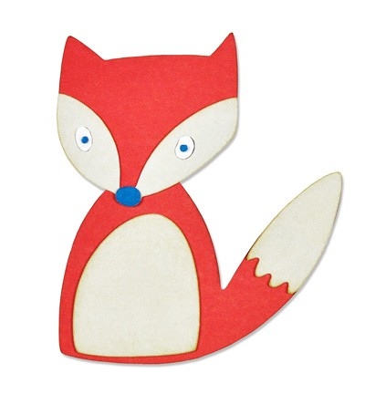 Sizzix - Die - Thinlits - Friendly Fox
