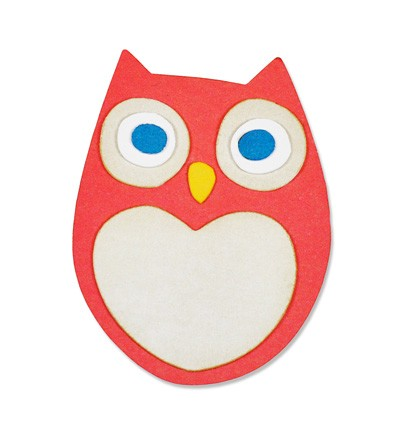 Sizzix - Die - Thinlits - Little Owl