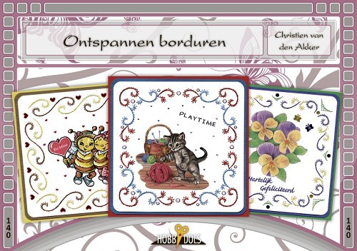 Card Deco - Hobbydols - No. 140 - Ontspannen borduren