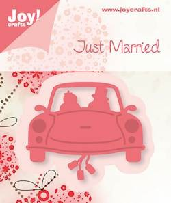 Joy! crafts - Noor! Design - Die - Just Married - Auto